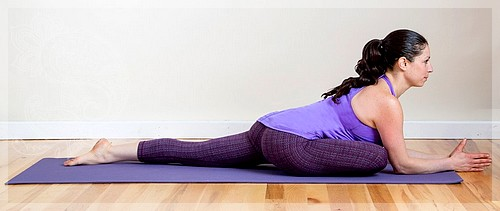 yoga from cellulite on thighs and buttocks