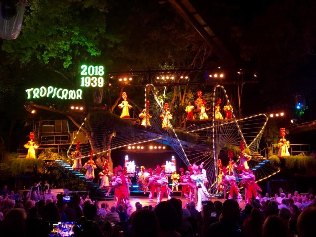 Cabaret Tropicana - lugares para ver en Cuba