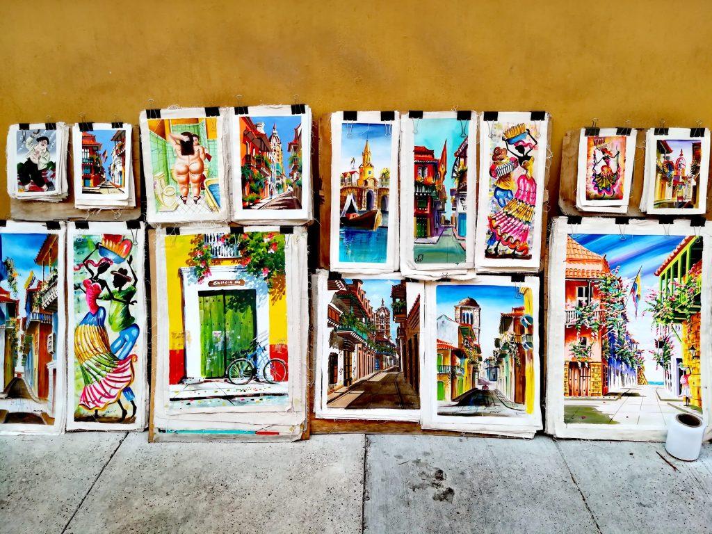 Arte en Cartagena - Colombia
