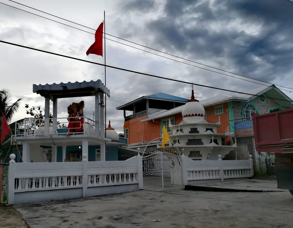 Templos en Guyana