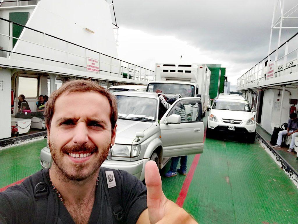 Ferry entre Guyana y Surinam