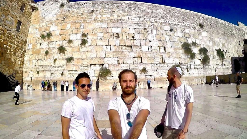 El Muro de los Lamentos - Jerusalem - lugares para visitar en Israel