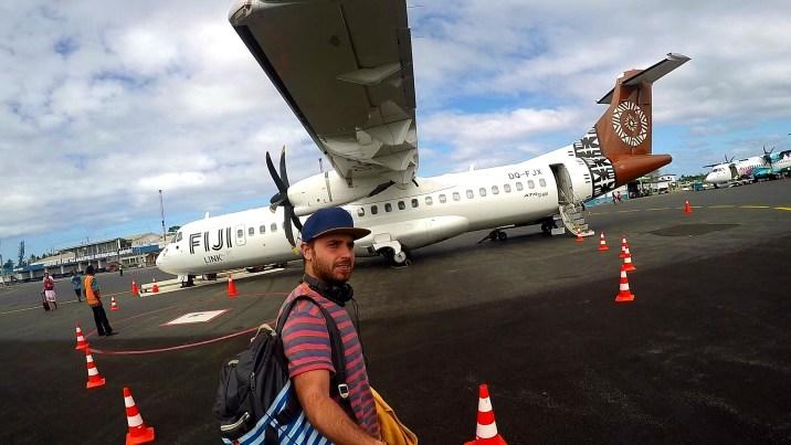 Avión rumbo a Fiyi