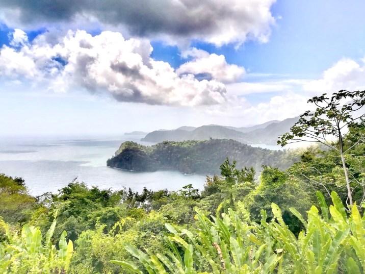 Costas acantiladas en el norte de Trinidad
