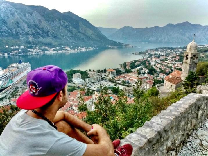 Vistas desde el Castillo de San Juan - Kotor