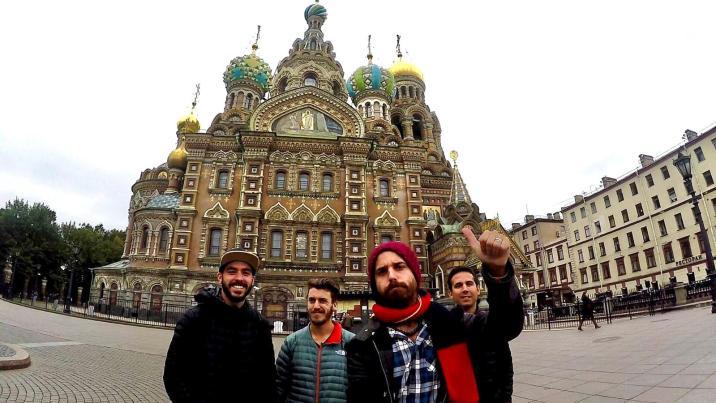 La iglesia del Salvador sobre la Sangre Derramada - San Petersburgo