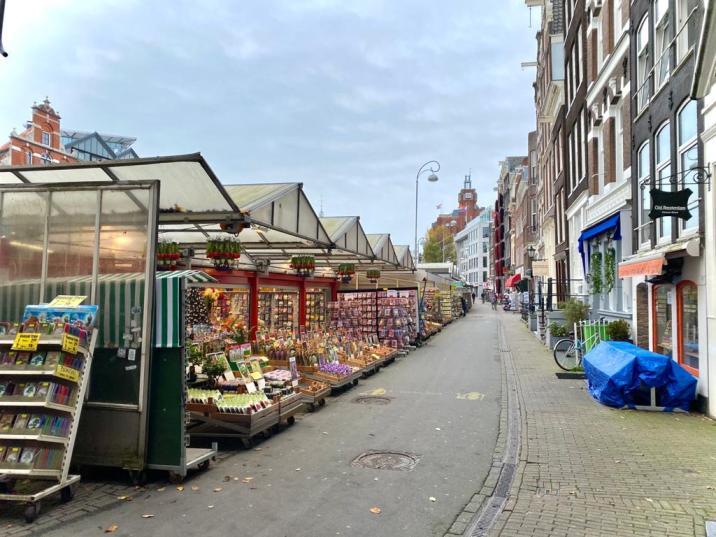 Mercado de las Flores - que ver en Amsterdam