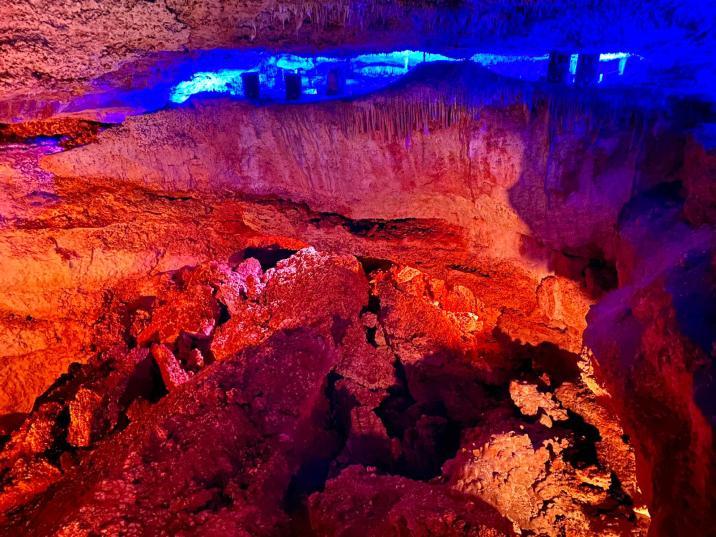 Fosa del Infierno - Cuevas dels Hams