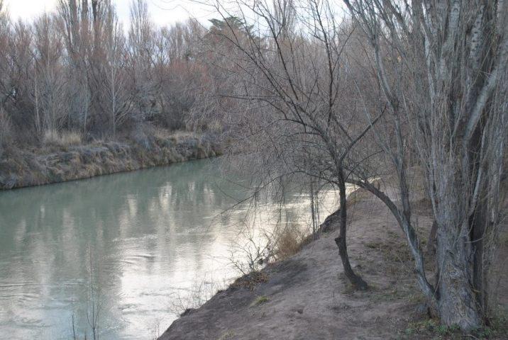 Río Chubut en Gaiman