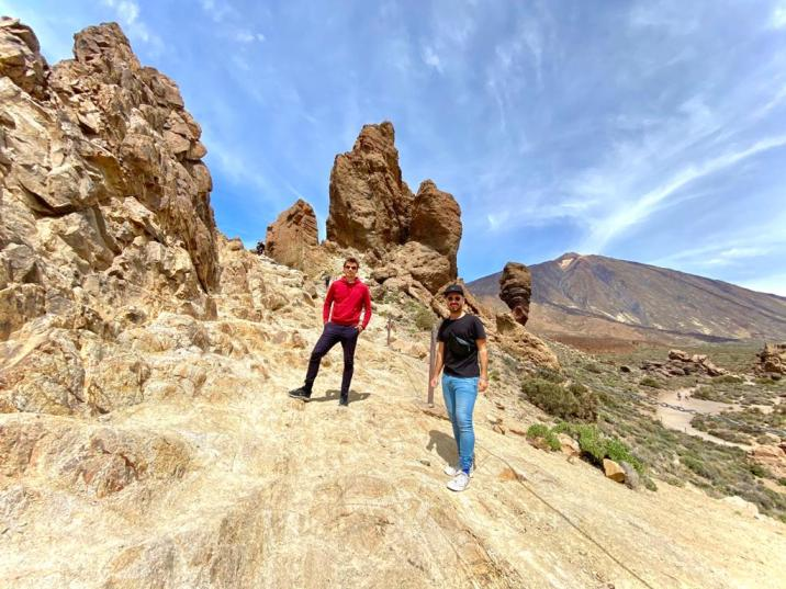 Roques de García - lugares imperdibles de Tenerife