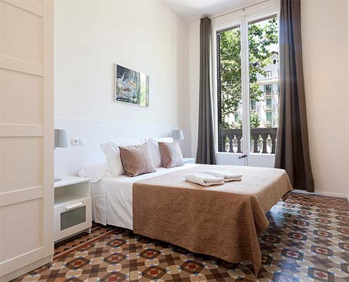 Luxury central apartments in Barcelona 2Bed 1Bath