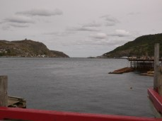 St. John's Harbour view from the road