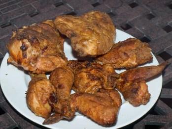Grill Fried Chicken