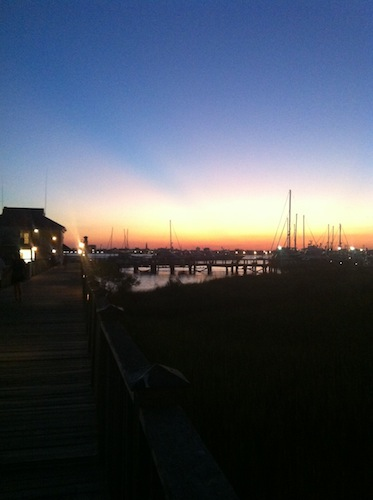 Charleston at Sunset