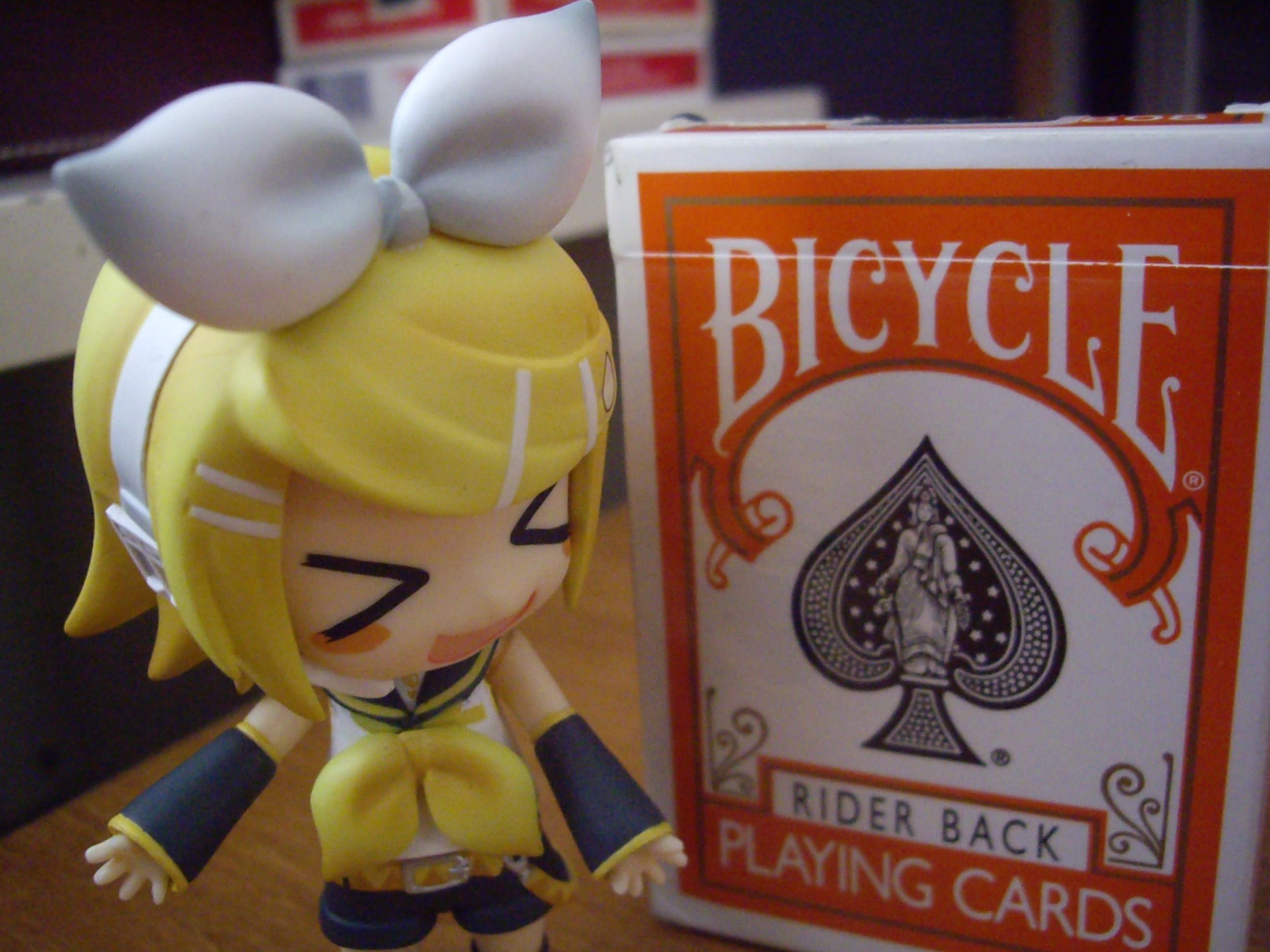Bicycle Orange : >__<