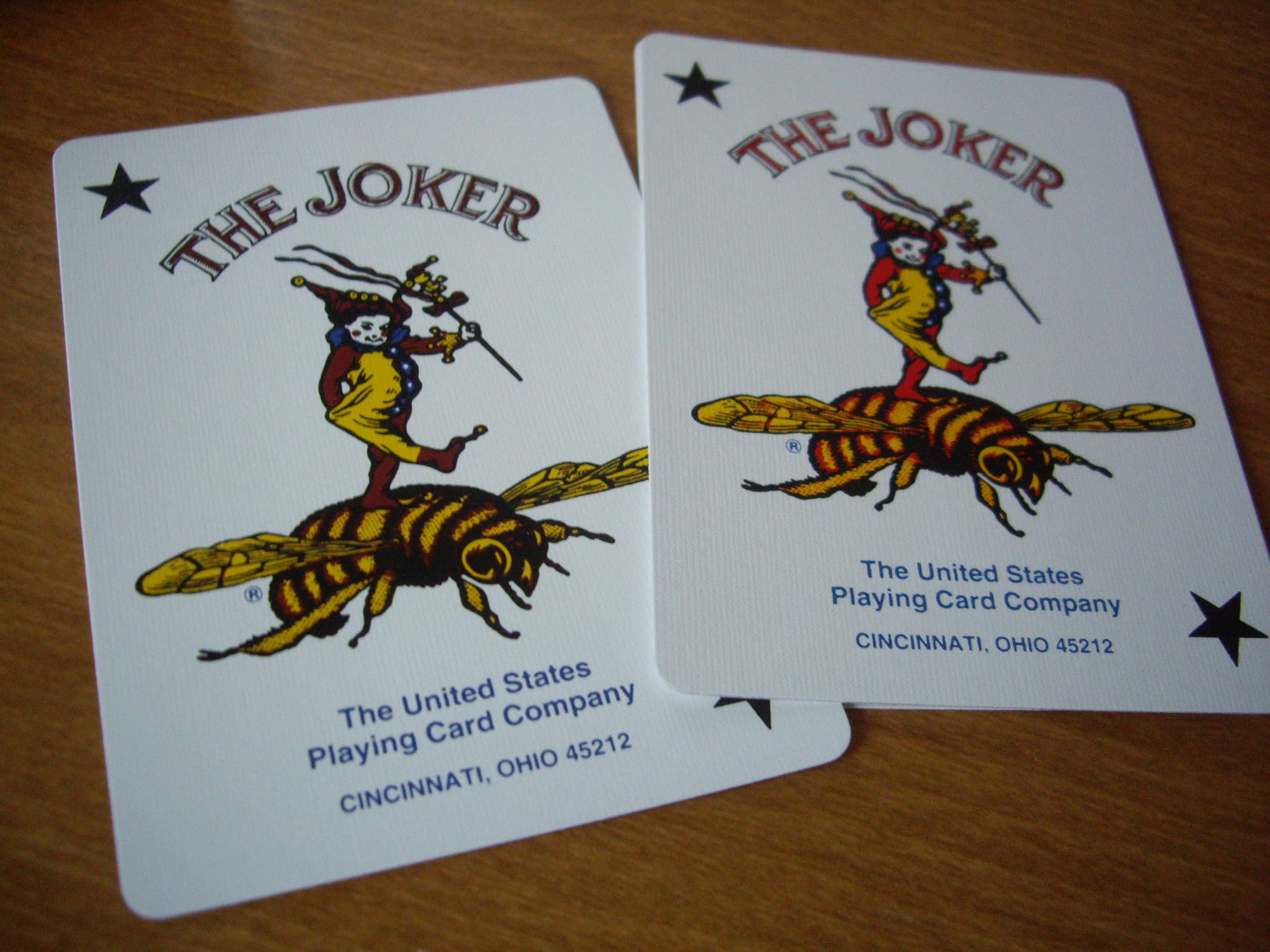 Wynn : Compare the Jokers. Wynn on left.