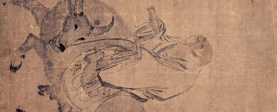 Zhang Lu Laozi Riding an Ox