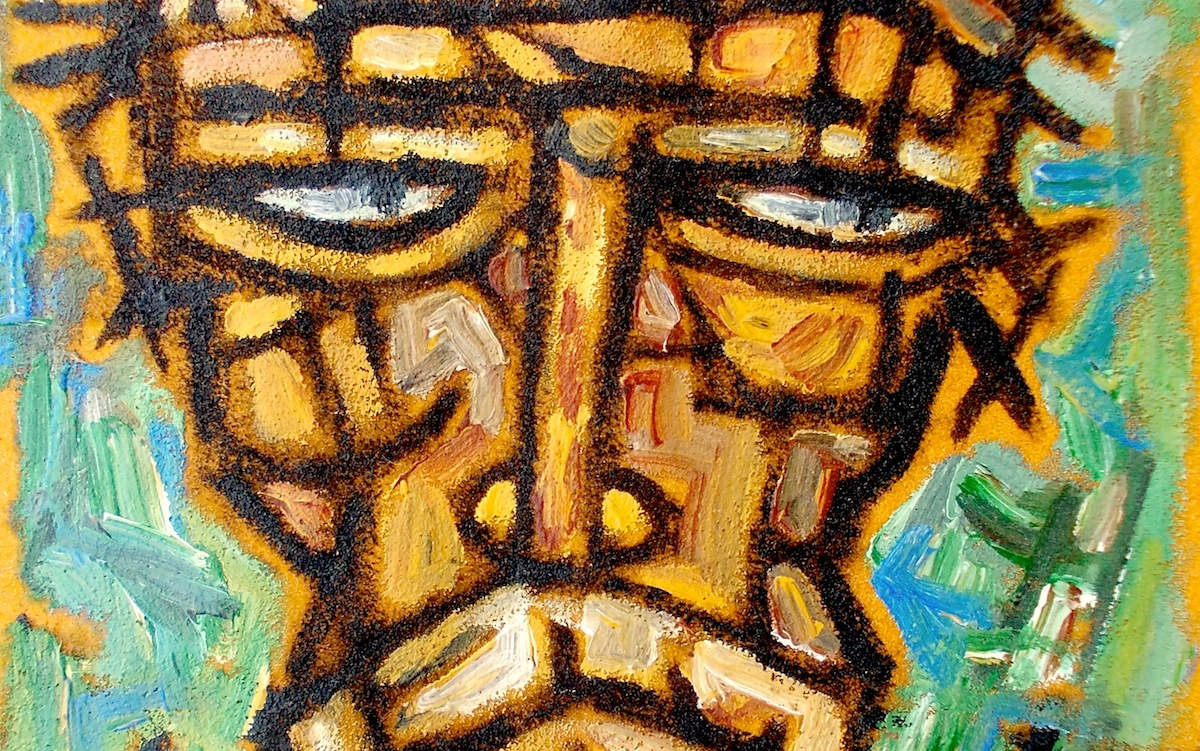 Christ with His Own Pain by Rupchand Kundu