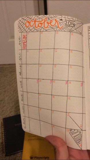 october calendar spread