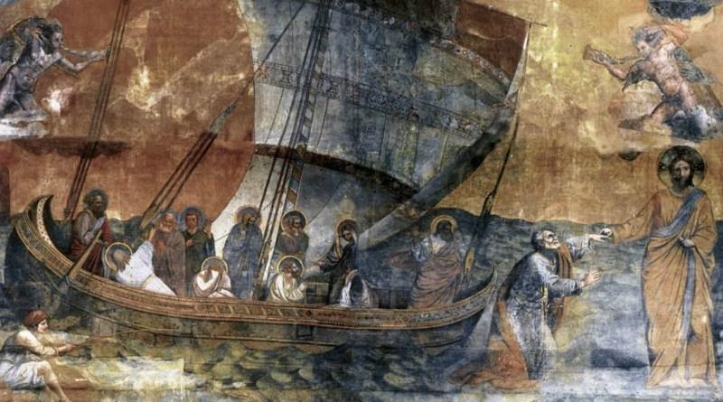 Navicella - Jesus Walking on the water