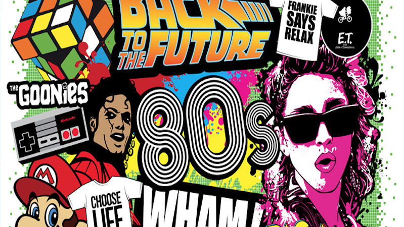 Why We Can't Get Enough of the '80s
