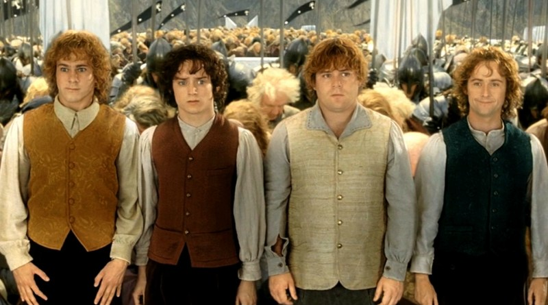 The Hobbits in The Return of the King