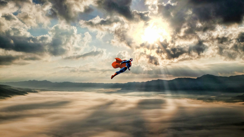 I Believe I Can Fly! My Five Favorite Flying Scenes