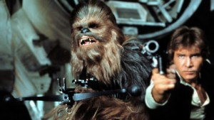Star Wars - Han and Chewie - in Honor of Peter Mayhew