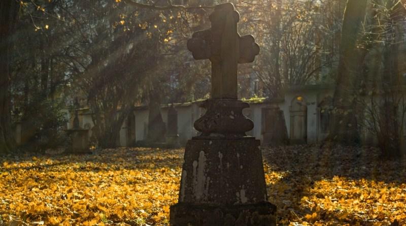 Autumn Season Cemetery