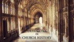 Devotions in Church History: Thomas Aquinas