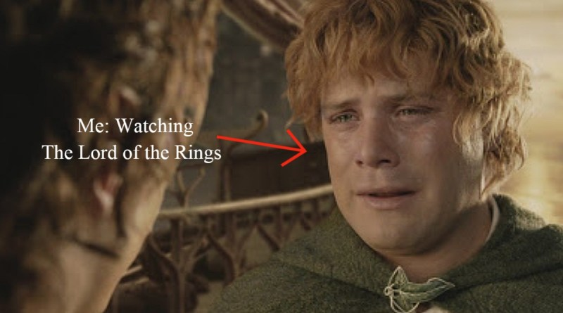 the lord of the rings makes me cry