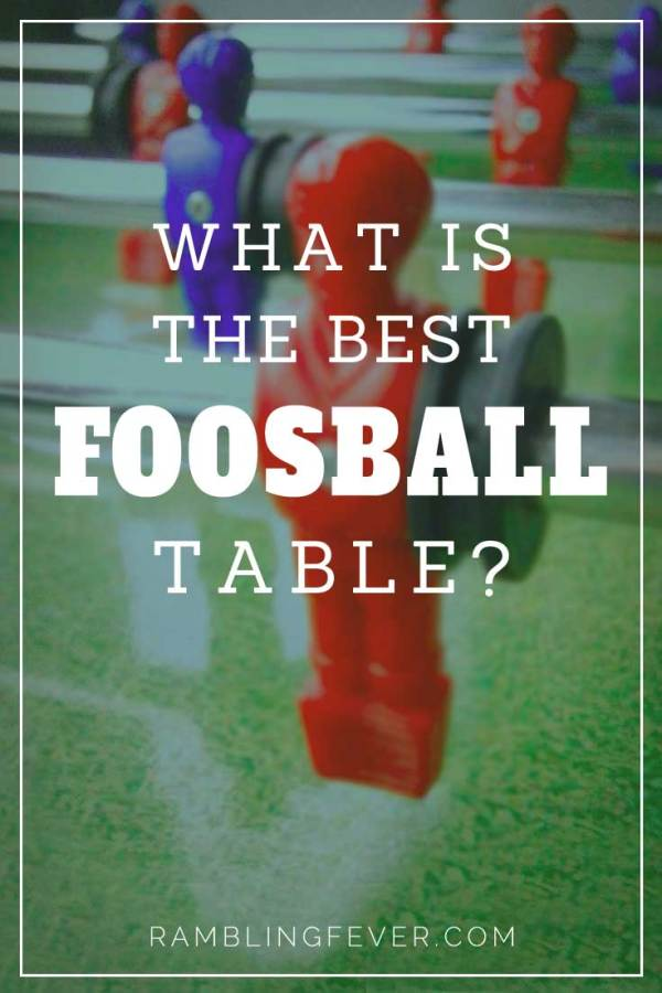 best foosball table pin