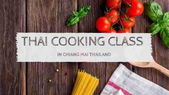 Thai Cooking Class in Chiang Mai Thailand