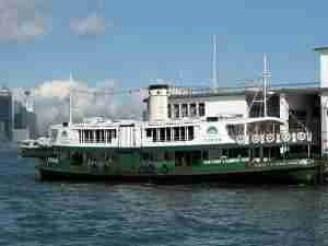 HK Star Ferry Harbour Ship