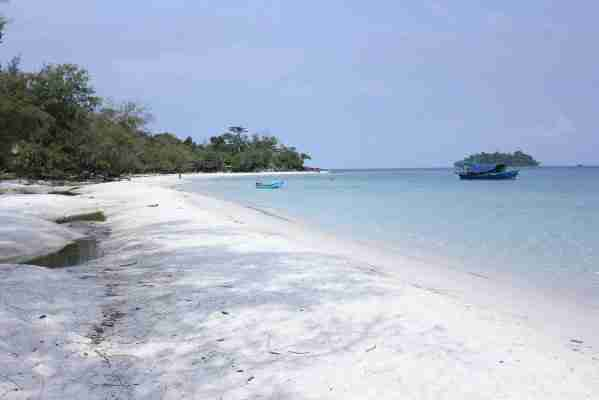 Beach on Koh Rong