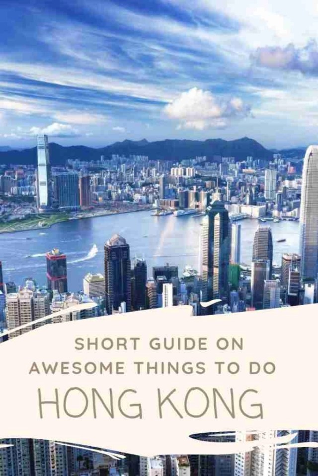 Short Guide on Awesome Things To Do In Hong Kong
