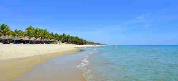Cua Dai Beach in Hoi An Vietnam