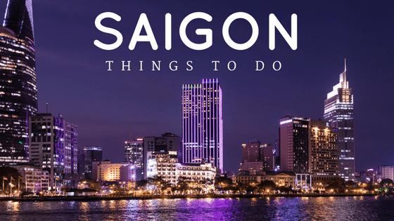 Saigon Things To Do