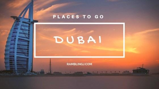 Dubai places to go Logo