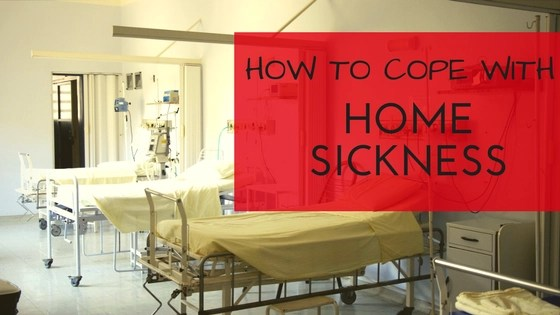 How to Cope With Home Sickness Logo
