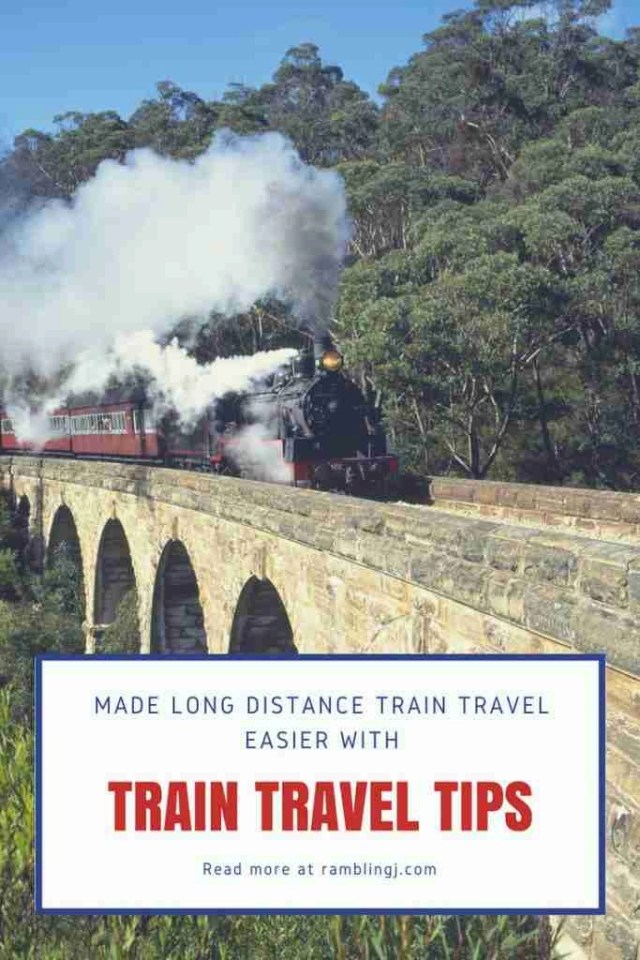 Long Distance Train Travel Tips | Tips for Travelling by Train