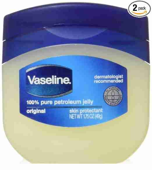 Backpacking tips vaseline jelly
