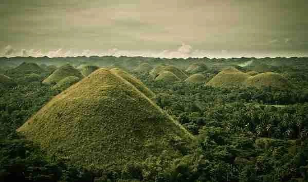 Chocolate Hill in Bohol Philippines