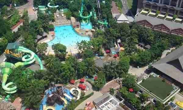 Adventure Cove Waterpark on Sentosa Island
