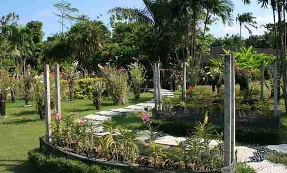 Orchid Garden in Sanur Bali
