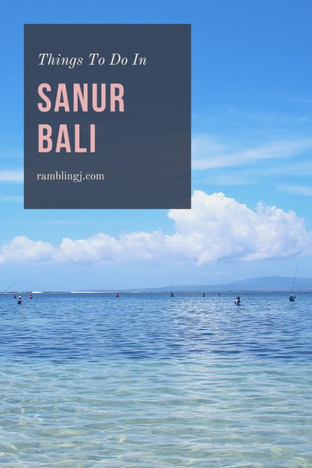 Things You Should Know About Things To Do in Sanur Bali