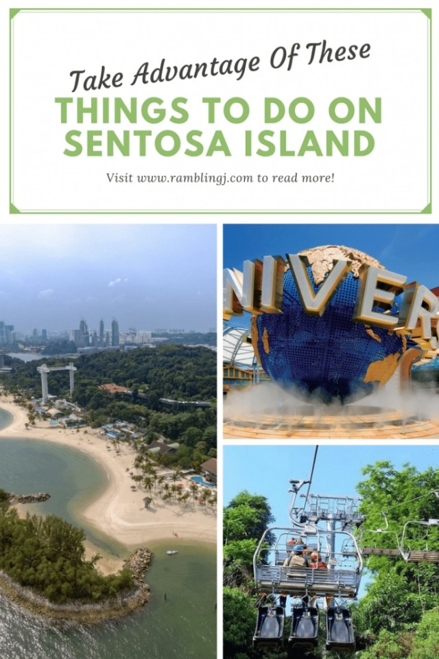 Take Advantage Of These Things To Do on Sentosa Island