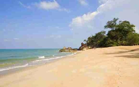 Cherating Beach in Malaysia