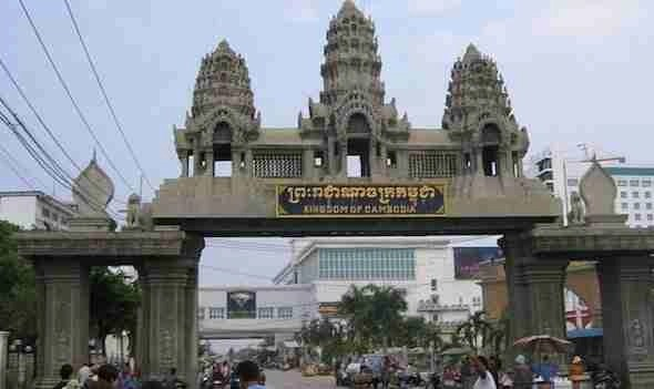Cambodia Thailand Border Crossing