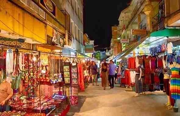 Night market of Chiang Rai